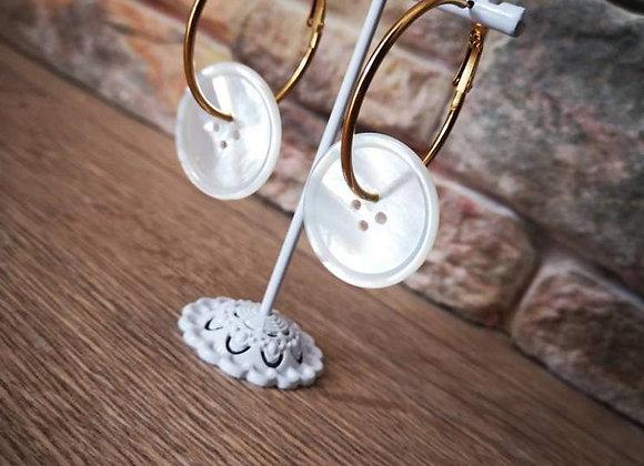 Boucles d'oreilles Junes