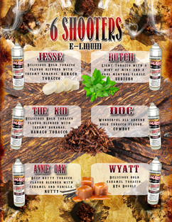 6 shooters Graphic Design