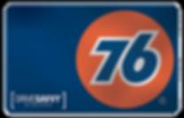 76 gas card
