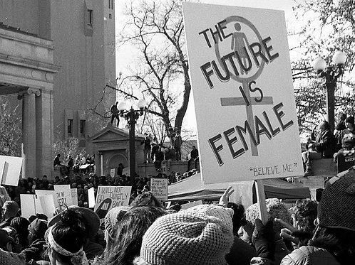 The Future is Female 8x10