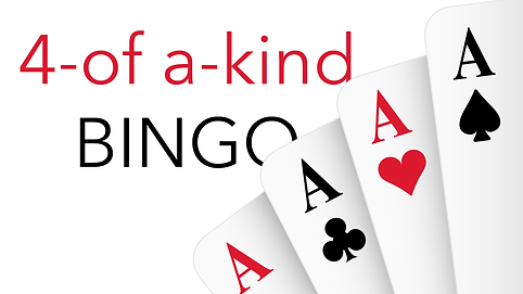 4-of a -kind Bingo at rounders