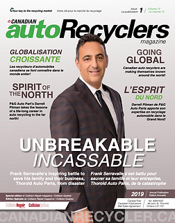 Canadian Auto Recyclers magazine cover.p