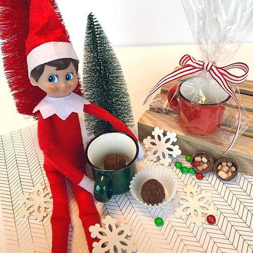 Elf's cocoa bombs