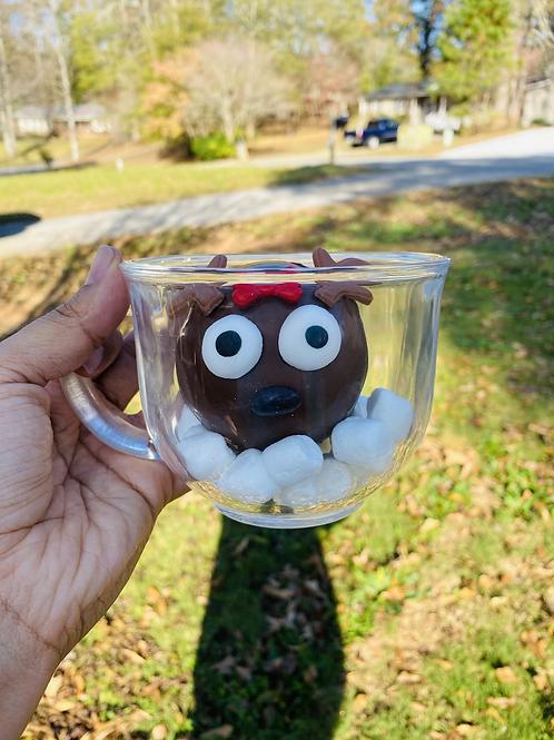 Personalized cocoa bomb