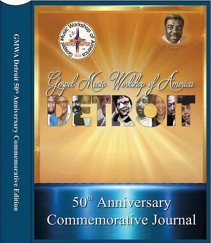 CD & 50th Anniversary Commemorative Book Bundle