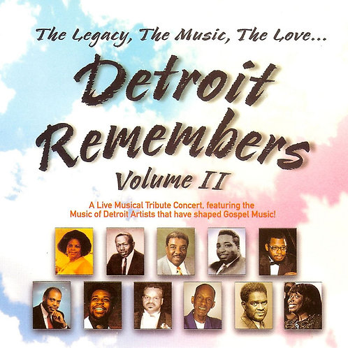 Detroit Remembers Volume 2