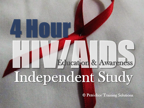 4-Hour HIV/AIDS Education & Awareness Independent Study