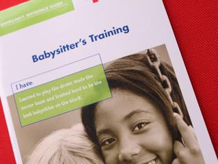 Babysitter's Training for Junior Counselor Workshop, Summer 2018!