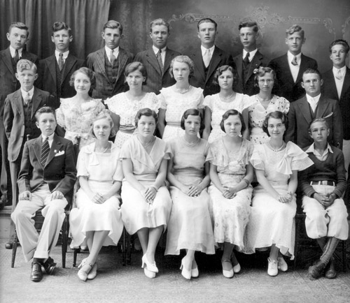 FHS 10th grade Graduation Class 1933