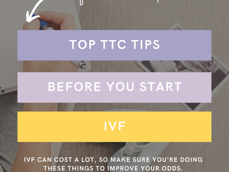 Top TTC Tips Before You Start IVF