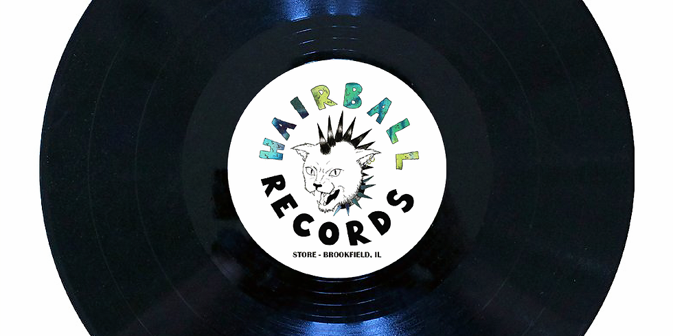 LIVE AT HAIRBALL RECORDS