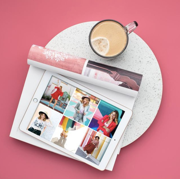 Ipad-on-Magazine-Table-With-Coffee-Pink