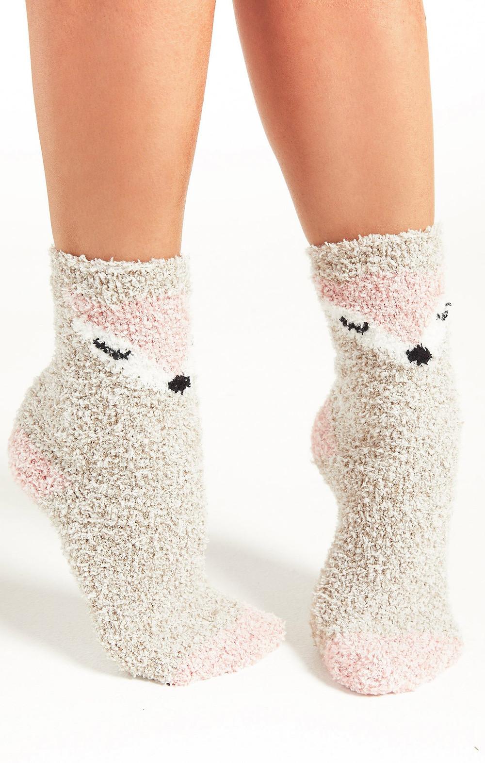 ZSupply-Plush-Socks-Foxy-Cozy-Loungewear
