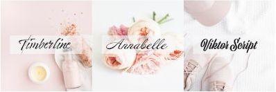 Beautiful-Fonts-ViktorScript -AnnabelleJF-Timberline