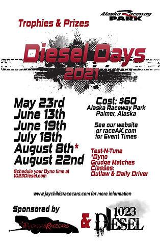 Diesel Days 2021 Poster