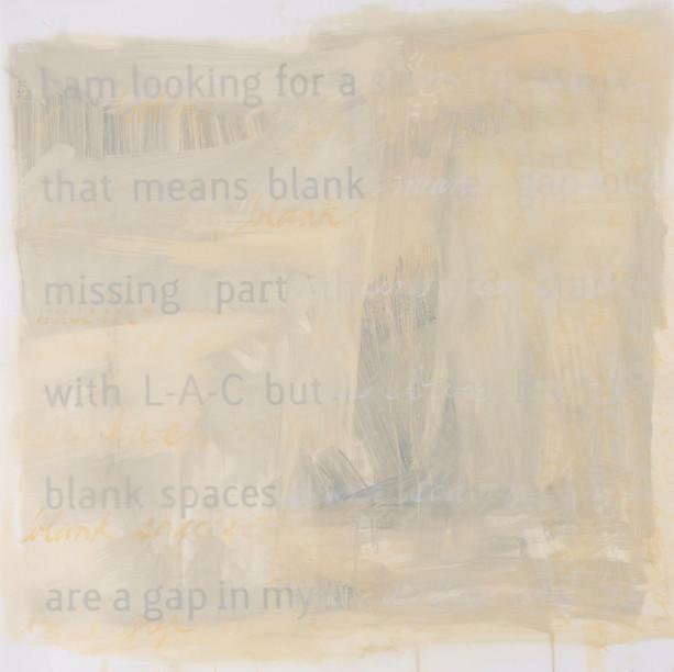 BLANK SPACE, GAP OR MISSING PART 3