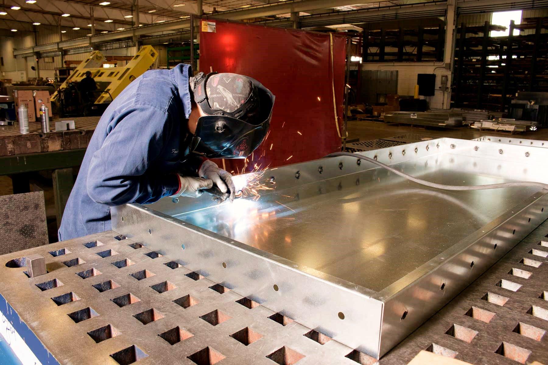 Sheet Metal Fabrication & Weldments