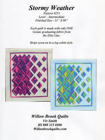 Stormy Weather quilt pattern
