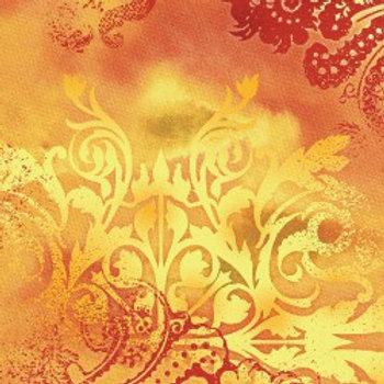 Dreamscape Orange Flame