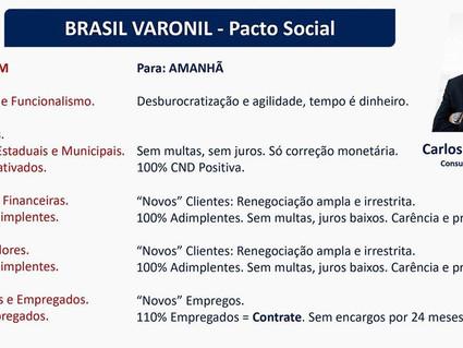 Brasil Varonil. Pacto social.