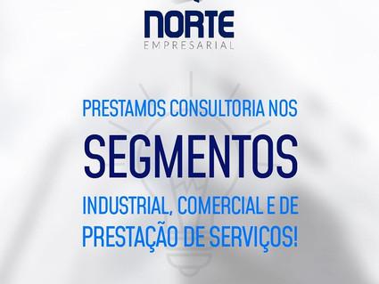 Prestamos consultoria nos segmentos Industrial, Comercial e de Prestação de Serviços.