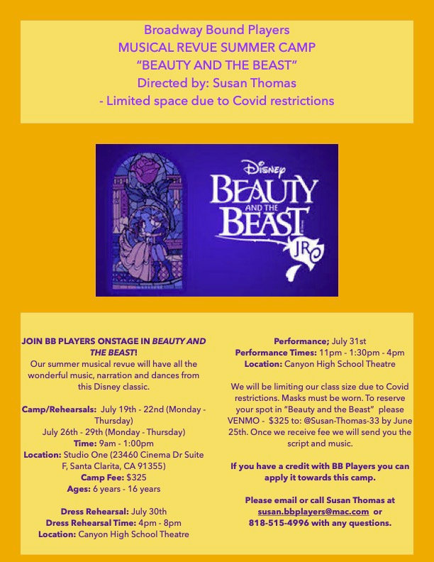 Beauty and The Beast Musical Review Camp