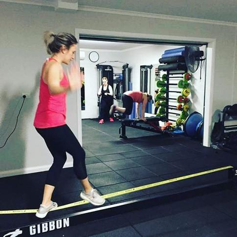 Balance work, grip strength, integrated