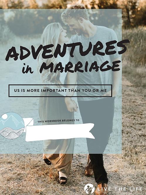 Adventures in Marriage Workbook (Christian Version)
