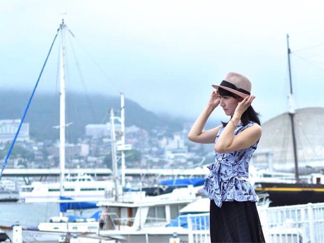 長崎港にて