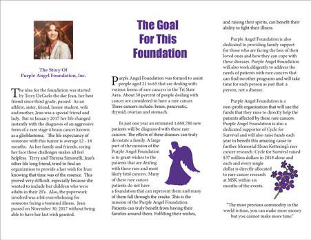 Purple Angel Brochure Inside
