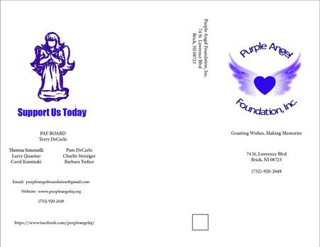 Purple Angel Brochure Outside