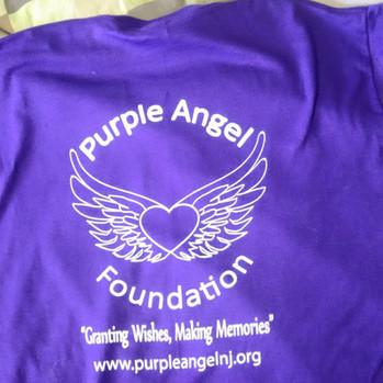 Purple Angel Foundation Shirt