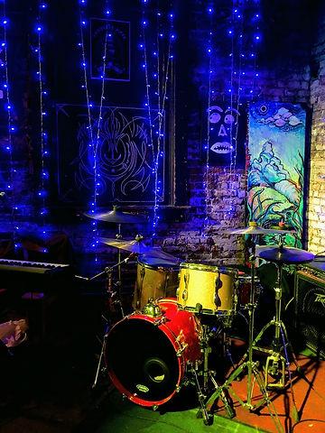 drums at Old Towne Pub in Pasadena