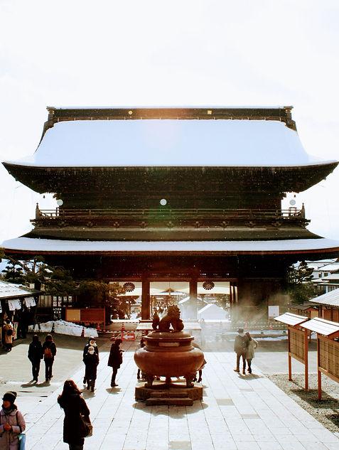 Buddist temple in Japan