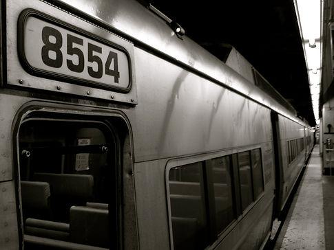 New York subway car