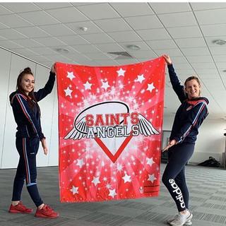 Saints Angles Custom Blankets