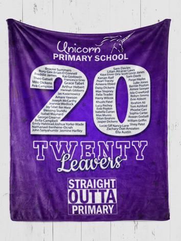 Double Down Leavers Memory Blanket