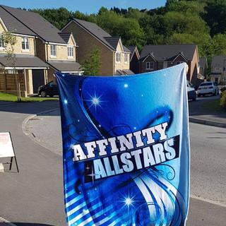Affinity Allstars Custom Blankets