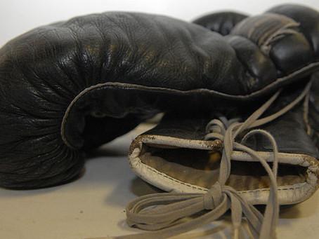 Boxer Learns Crochet During Pandemic Lockdown