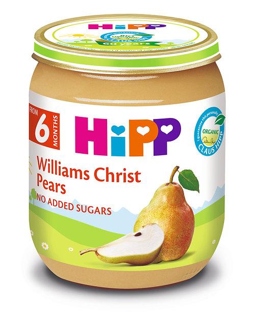 Organic Williams Christ Pears 125g