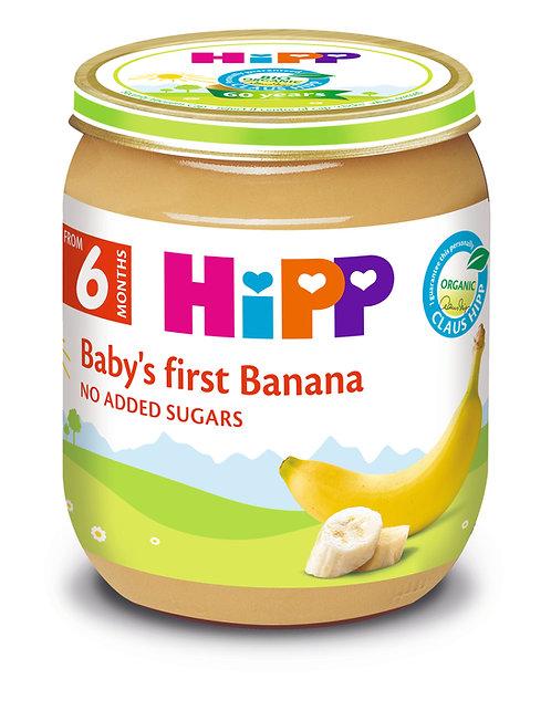 Organic Baby's First Banana 125g