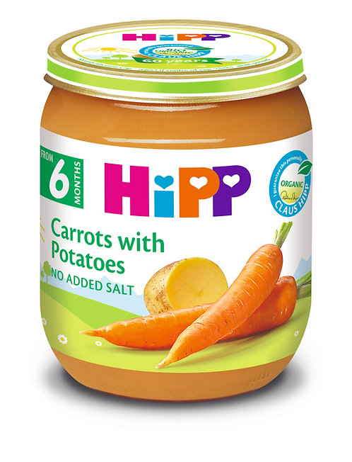 Organic Carrots with Potatoes 125g