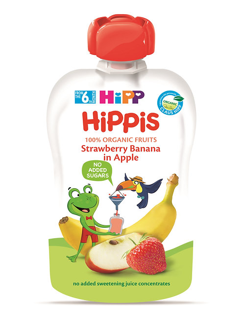 Strawberry Banana in Apple 100g