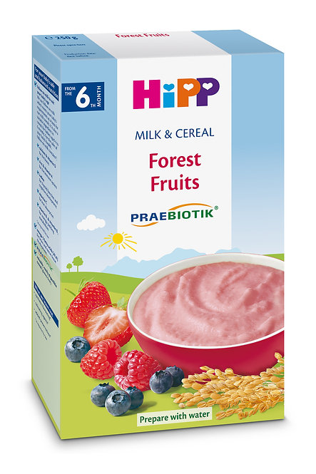 PRAEBIOTIK® Milk Pap Forest Fruits 250g