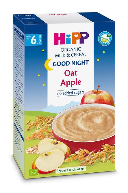 Organic Good Night Milk Pap Oat Apple 250g