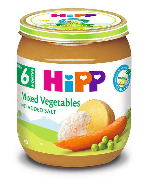 Organic Mixed Vegetables 125g
