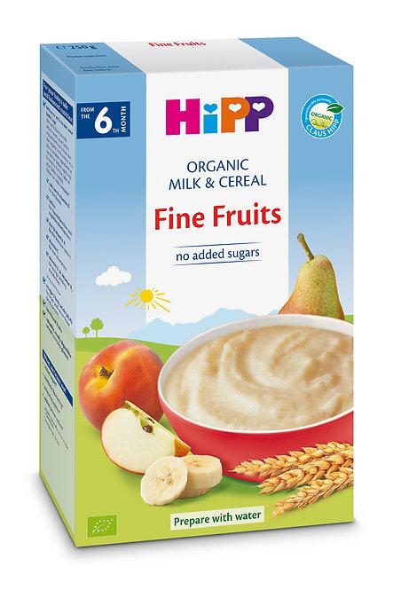 Organic Milk Pap Fine Fruits 250g
