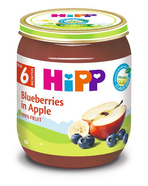 Organic Blueberries in Apple 125g