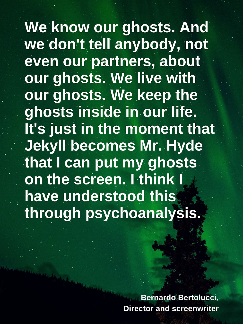 Ghosts and psychoanalysis