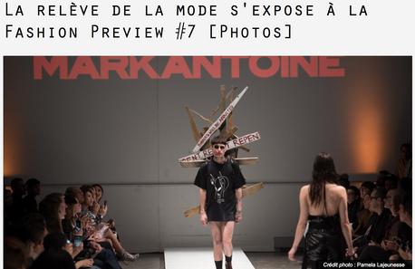 La relève de la mode s'expose à la Fashion Preview#7